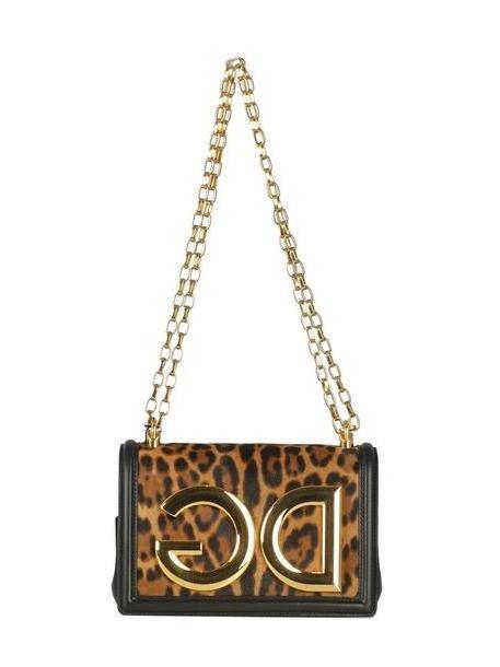 2cd4b27a08 Dolce & Gabbana Dg Leopard Print Shoulder Bag cover image