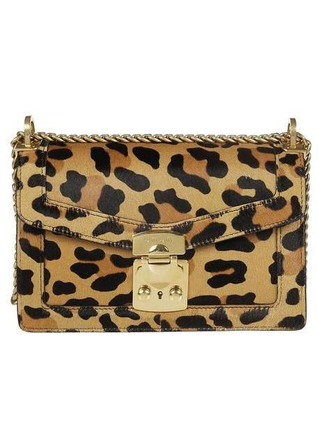 Miu Miu Leopard Shoulder Bag cover image