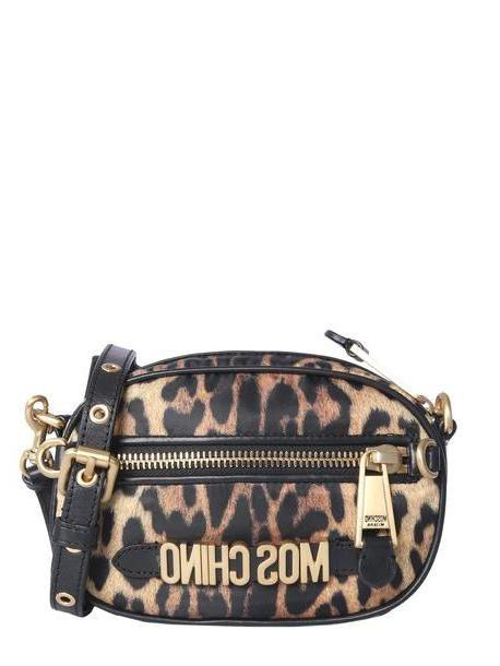 Moschino Leopard Print Shoulder Bag cover image