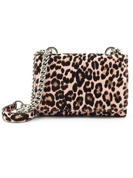 Roberto Festa Pink Leopard Spotted Ponyskin Clutch cover image