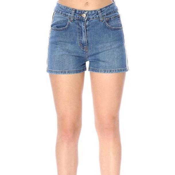 Gcds Pants Pants Women Gcds in denim / denim cover image