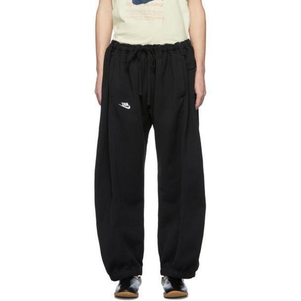 Bless SSENSE Exclusive Black Denim Overjoggingjeans Lounge Pants cover image
