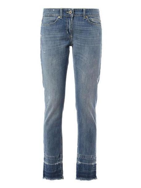 Dondup Pants Monroe in denim / denim cover image