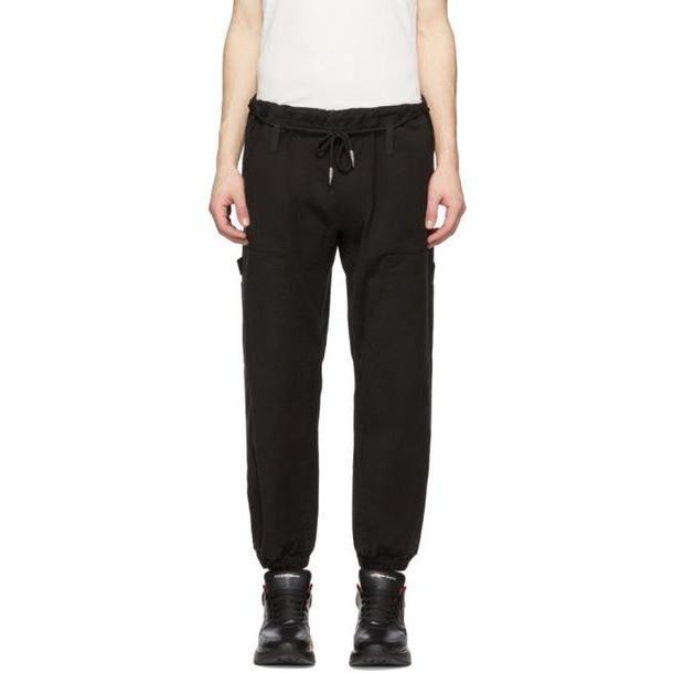 Alexander Wang Black Denim Lounge Pants cover image