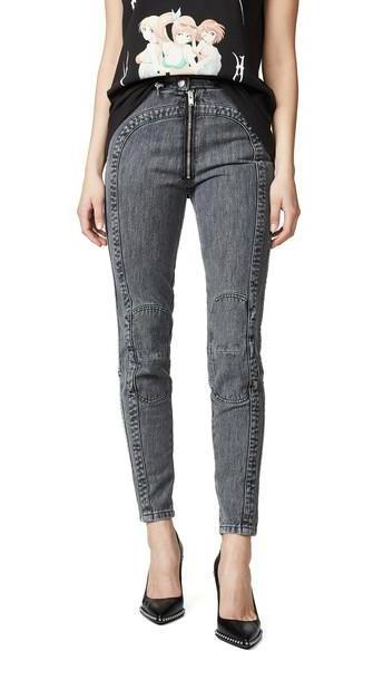 M I S B H V Denim Motorcycle Trousers cover image