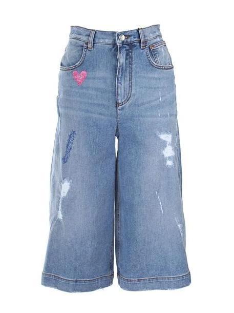 Dolce & Gabbana Trousers in denim / denim cover image