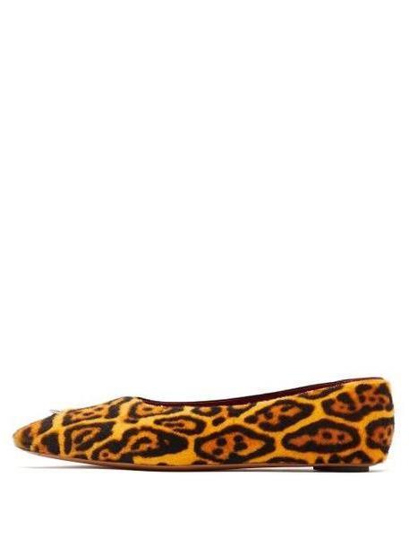 Marni - Piercing Leopard Print Calf Hair Pumps - Womens - Leopard cover image