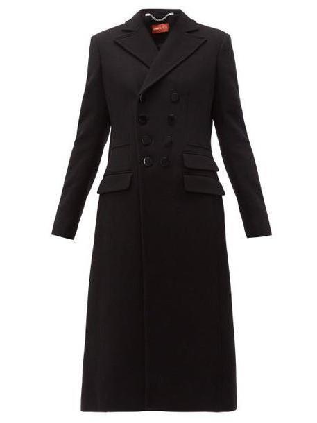 Altuzarra - Janine Double Breasted Wool Blend Coat - Womens - Black cover image