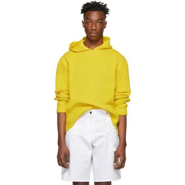 Jacquemus Yellow 'La Maille Capuche' Hoodie cover image