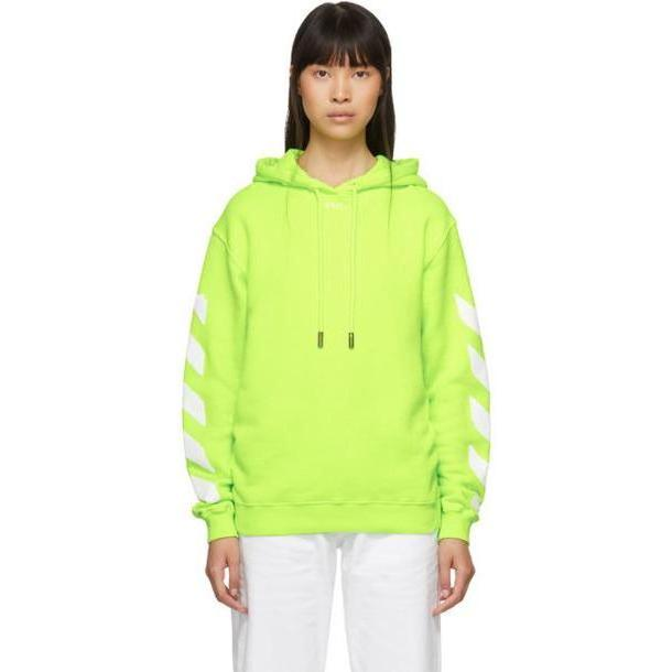 Off-White Yellow Diag Hoodie cover image
