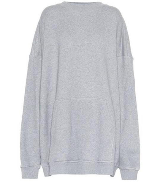 Y/PROJECT Cotton hoodie in grey cover image