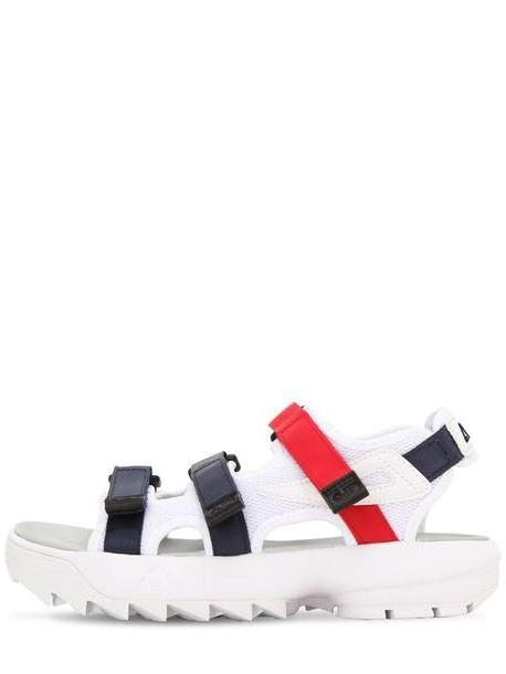 FILA URBAN Disruptor Sandal Flats in navy / red / white cover image