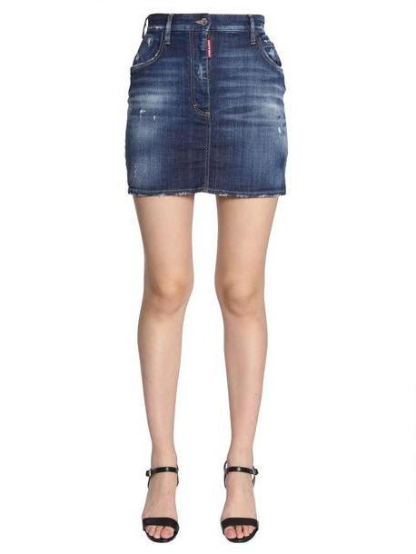 Dsquared2 Denim Skirt cover image