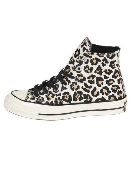 Converse Leopard Print Hi-top Sneakers cover image