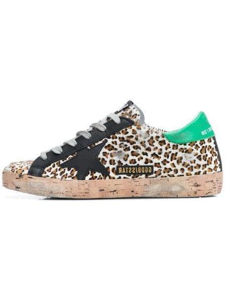 Golden Goose Deluxe Brand Leopard Sneakers cover image