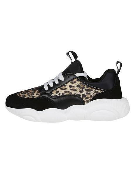 Moschino Leopard Print Sneakers cover image