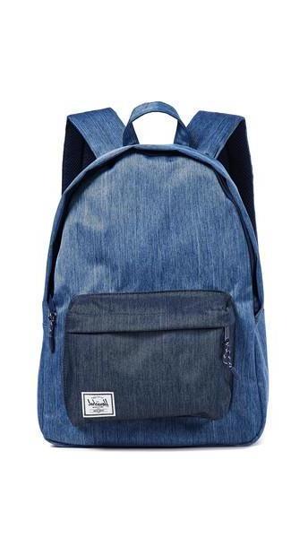 Herschel Supply Co. Herschel Supply Co. Classic Mid Volume Backpack in denim / denim cover image