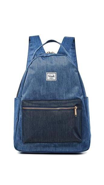Herschel Supply Co. Herschel Supply Co. Nova Mid-Volume Backpack in denim / denim cover image