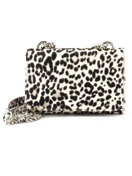 Roberto Festa White Leopard Spotted Ponyskin Clutch cover image