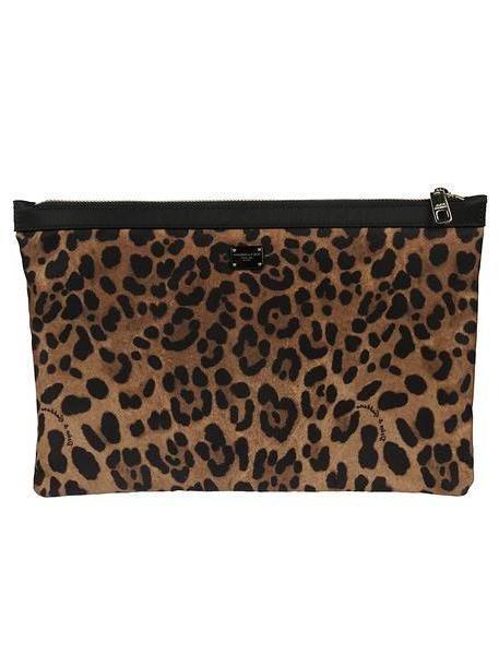 Dolce & Gabbana Leopard Clutch cover image