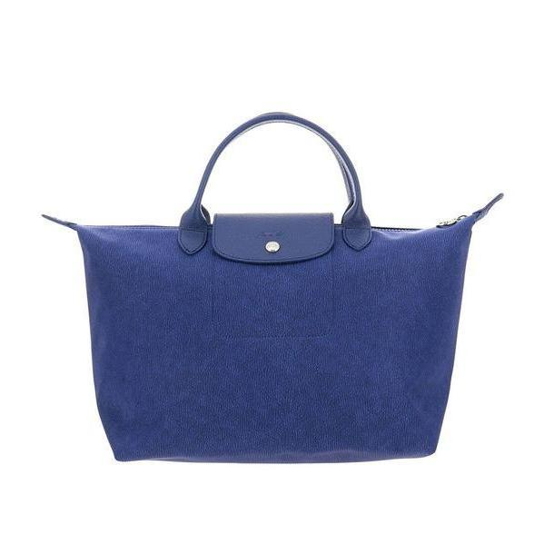 Longchamp Handbag Shoulder Bag Women Longchamp in denim / denim cover image