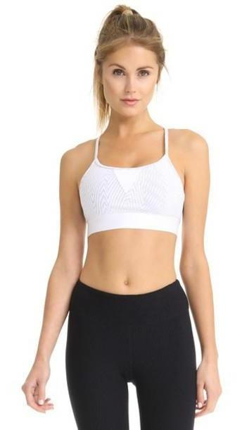 KORAL ACTIVEWEAR Trifecta Versatility Bra in white cover image