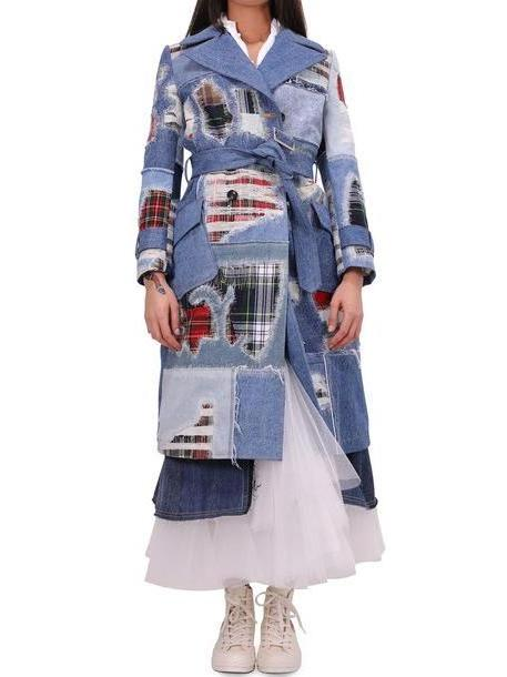 Junya Watanabe Denim Mix Coat cover image