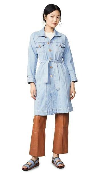 ei8htdreams Belted Denim Coat cover image