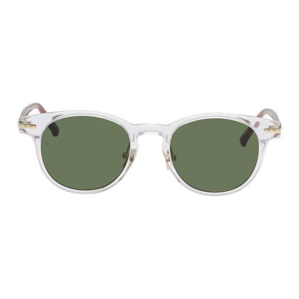 Linda Farrow Luxe Transparent & Tortoiseshell 25 C10 Sunglasses cover image