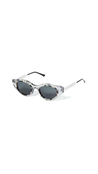 Thierry Lasry Fantasy 850 Sunglasses in white / clear cover image
