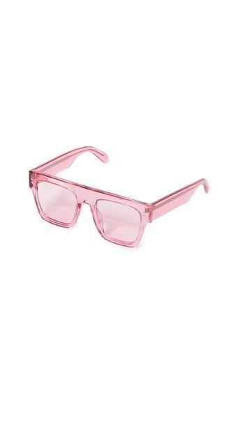 Stella McCartney Mum & Me Flat Top Sunglasses in pink / transparent cover image