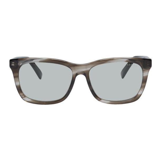 Gucci Transparent Tortoiseshell Oversized Wearable Sunglasses cover image