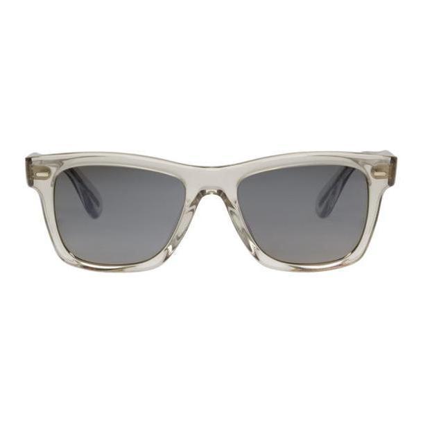 Oliver Peoples Transparent & Grey Oliver Sunglasses cover image
