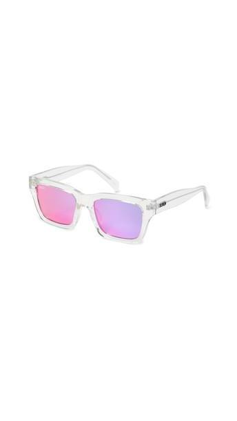Quay In Control Sunglasses in pink / purple / clear cover image