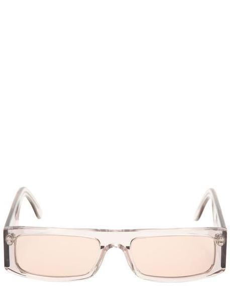 ANDY WOLF Hume Sunglasses in transparent cover image