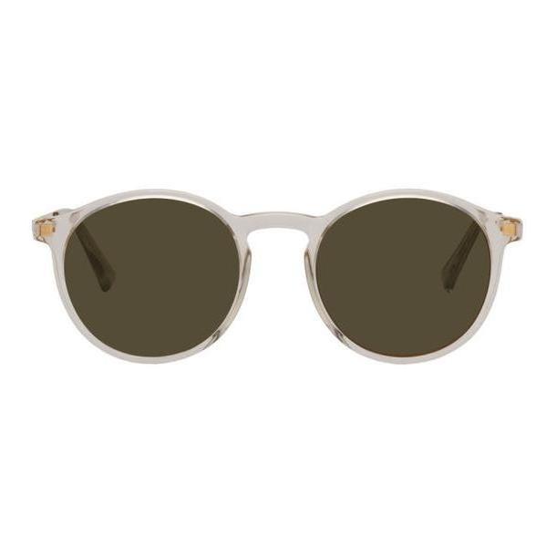 Mykita Transparent & Gold Lite Sun Oki Sunglasses cover image