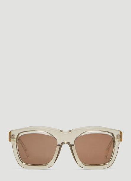 Kuboraum Maske C2 Square Sunglasses in Silver size One Size cover image