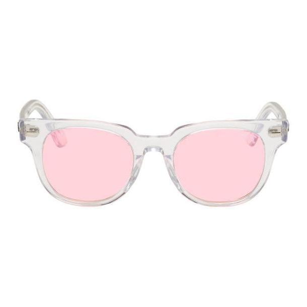 Ray-Ban Transparent & Pink Meteor Evolve Sunglasses cover image