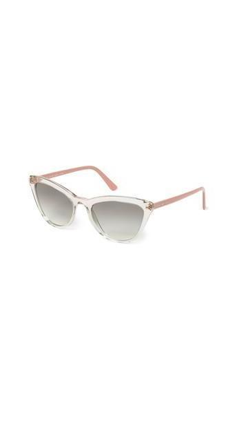 Prada Ultravox Cateye Sunglasses in pink / transparent cover image