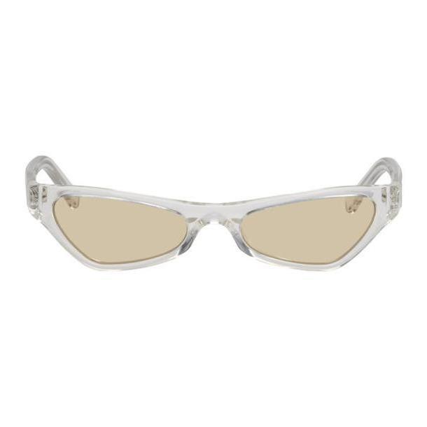 NOR Transparent & Orange Venus Sunglasses cover image