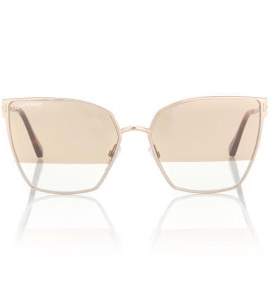 Tom Ford Metal sunglasses in beige / beige cover image