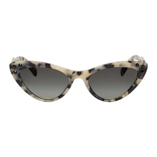 Miu Miu Beige Logomania Cat-Eye Sunglasses cover image