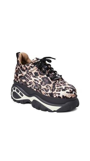 Buffalo London 1337-14 Classic Kicks Sneakers in leopard cover image