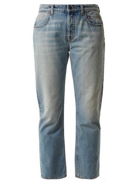 The Row - Ashland Mid Rise Straight Leg Jeans - Womens - Denim cover image
