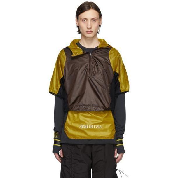 Nike Yellow & Burgundy WMNS Transform Jacket cover image