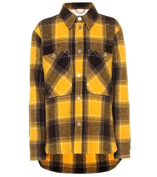Dorothee Schumacher Colorful Check virgin wool jacket in yellow cover image