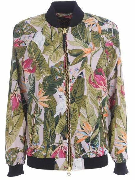 Woolrich Floral Print Bomber cover image