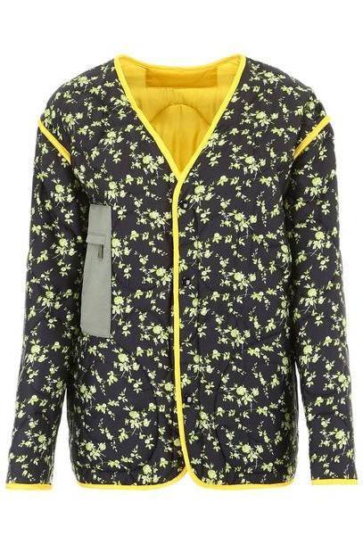 N.21 Reversible Jacket in black / multi cover image