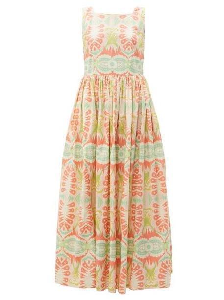 Le Sirenuse, Positano - Julia Print Cotton Poplin Dress - Womens - Pink Multi cover image