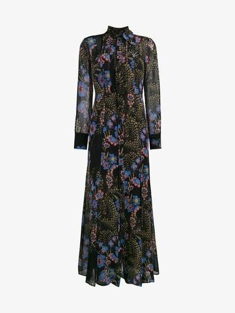 Etro floral print maxi dress cover image